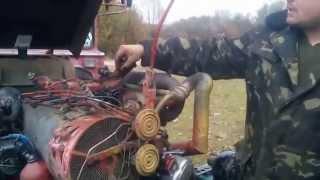 Установка момента впрыска на тракторе (Т-40, Т-25...)