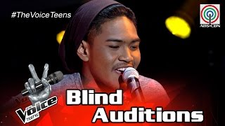 The Voice Teens Philippines Blind Audition: Carlos Navea - One Dance