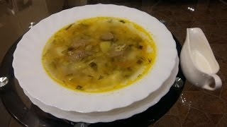ОЧЕНЬ ВКУСНЫЙ РАССОЛЬНИК. Суп с рисом и огурцами. Как вкусно сварить рассольник.