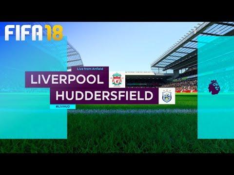FIFA 18 - Liverpool vs. Huddersfield Town @ Anfield
