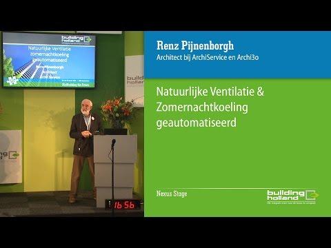 Natuurlijke ventilatie & zomernachtkoeling geautomatiseerd