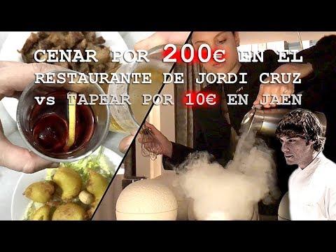 RESTAURANTE 3 ESTRELLAS MICHELIN vs BAR DE TAPAS | ABaC de Jordi Cruz vs Taberna Lagartijo