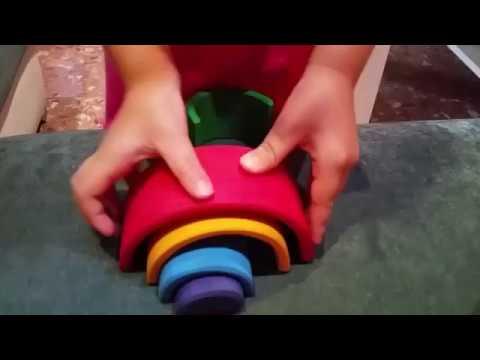 Vorschau: Kleiner Regenbogen 17 cm 6teilig