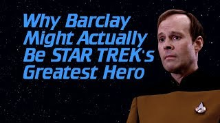 Why Barclay Might Actually Be Star Trek's Greatest Hero