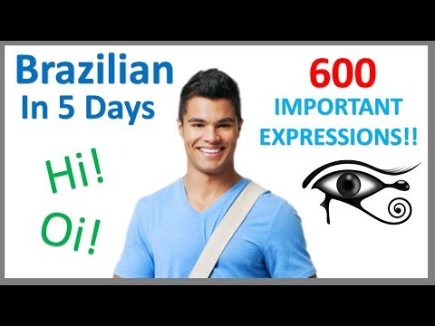 Learn Brazilian Portuguese in 5 days- Conversation for Beginners ...