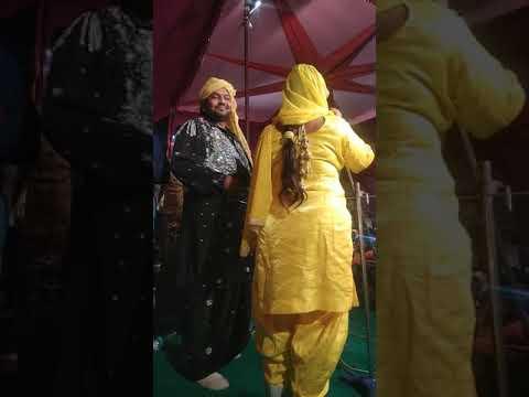 Sabar khan//lovjot Rani //live show pind( Gill) zila fridkot  vikha //