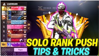 How To Push Rank In Free Fire In Season 24 ✔️| Solo Rank Push Tips In Free Fire | Rank Push Tips