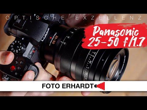 Vorgestellt: Panasonic Leica DG Vario Summilux 25-50 mm f/1.7