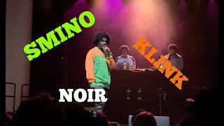 SMINO PERFORMING KLINK FOR THE FIRST TIME ON STAGE (NOIR)