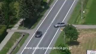 Policyjny dron w akcji