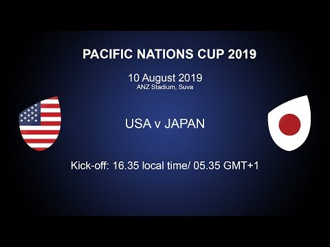 Pacific Nations Cup 2019 – USA v Japan