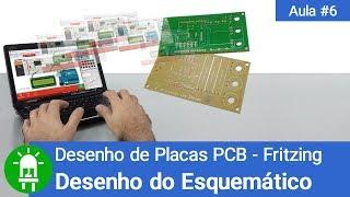 Download Youtube: Desenho de Placas de Circuito Impresso - Aula 6 - DESENHO DO ESQUEMÁTICO