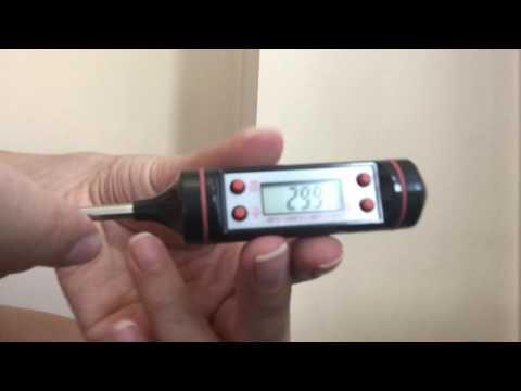 Unboxing: Termómetro Digital de Cocina Lectura Instantánea LCD Carne, Asado y Parrillada