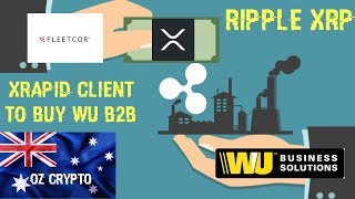 Ripple XRP: xRapid Client Looking To Buy Western Union B2B