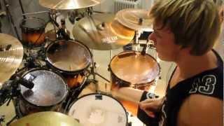 Vlad Korolenko As Blood Runs Black -- Hester prynne. (Drum Cover)