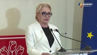 Dăncilă: Nu îmi este teamă să mergem în Parlament; nu fugim de responsabilitate şi nu vom da înapoi