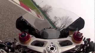 preview picture of video 'On Board Canepa IMOLA 1199 Panigale R'