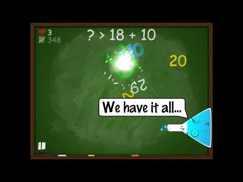 Screenshot of video: Blackboard Madness App