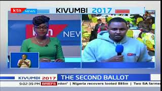 Wafula Chebukati  corrects earlier total of votes presented to the commission