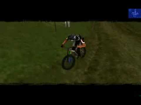 No Fear Downhill Mountain Biking Game Boy