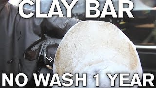 How to use Clay Bar 1 Year of Neglect on Rare CLK 63 Convertible