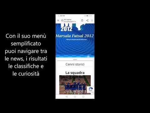 immagine di anteprima del video: Nuovo sito internet per il Marsala Futsal