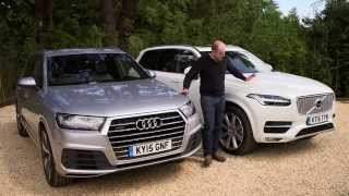 Audi Q7 vs Volvo XC90 review   TELEGRAPH CARS