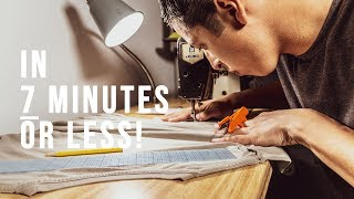 Beginners Sewing —  How To Learn To Sew Fast!
