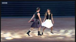 500 miles dance at Commonwealth opening by Scottish Ballet