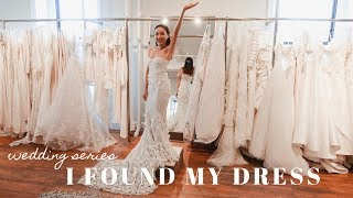 WEDDING SERIES: Dress Shopping in NYC | I SAID YES!!! | glowwithava