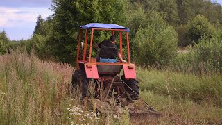 Tractor T-25 Mowing (1080p)