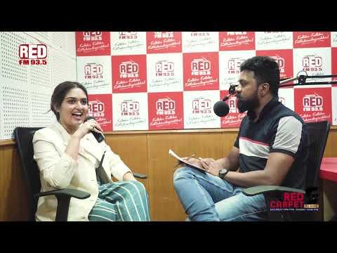 Prayaga Martin | Red Carpet | RJ Mike | Red FM Malayalam
