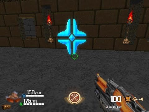 Doom 2 Mod Quake 2 Weapons Gameplay Part 1/4 Full - смотреть