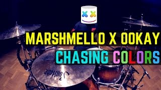 Gambar cover Marshmello x Ookay - Chasing Colors (ft. Noah Cyrus) | Matt McGuire Drum Cover