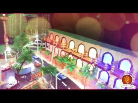 Rahul Padwal Home Ganpati Decoration Video