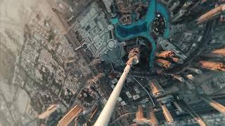 Johney FPV! Diving the Tallest Building in the World Burj Khalifa FPV 720p