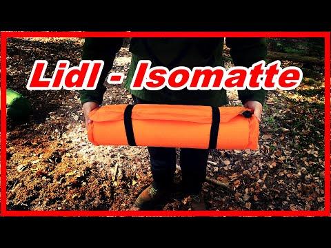 LIDL ISOMATTE 💰 Günstig und Gut ❓ | Für Camping Bushcraft Outdoor Isomatte