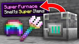 Minecraft, But Smelting Gives OP Items...