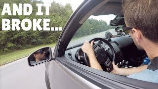 ATTEMPTING to DRIFT in the 350Z! + TACOMA UPDATE!!
