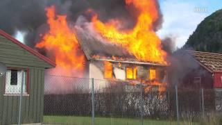 Ikke gjør dette hjemme: Huset brenner - YouTube