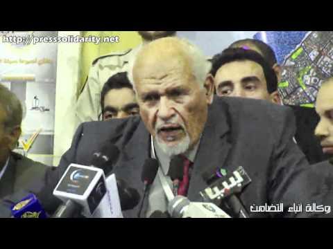 انتخابات بنغازي – المؤتمر الصحفي