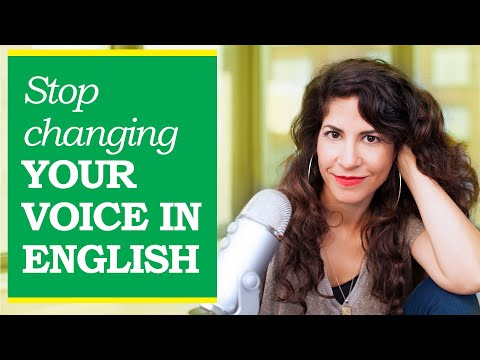 Do you change your voice when you speak English? Here's why (+ listen to my voice in Hebrew😲)