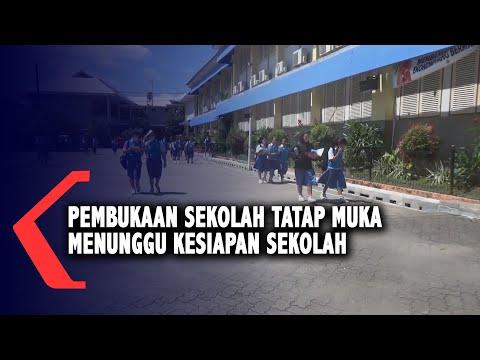 pembukaan sekolah tatap muka menunggu kesiapan sekolah guru wajib swab