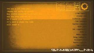 Portal 2: Credits Song 'Want You Gone' by Jonathan Coulton [HD] (End Song)