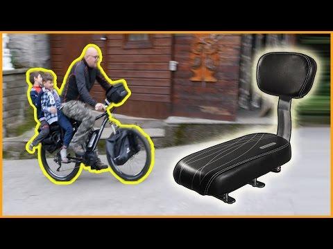 Seggiolino bici per bambini grandi con schienale
