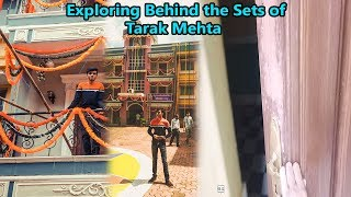 Film City Mumbai Tour🔥🔥 | Unseen Behind the Sets of TMKOC | Exploring Studios of Film City!