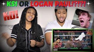 "Game Theory: ""KSI vs Joe Weller vs Logan Paul - Why Logan Paul Would Win!"" REACTION!!!"