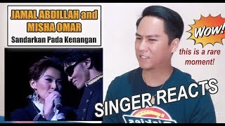 Jamal Abdillah And Misha Omar Duet | SINGER REACTS