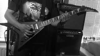 Darkthrone   The Hardship Of The Scots Guitar Cover