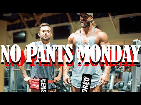 NO PANTS MONDAY - CHEST